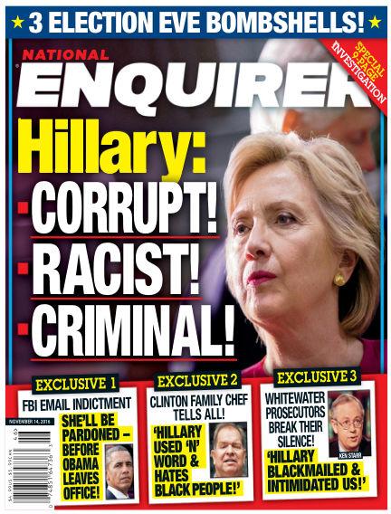 National Enquirer November 04, 2016 00:00