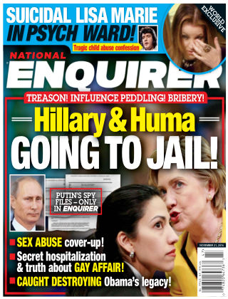 National Enquirer Nov 21 2016