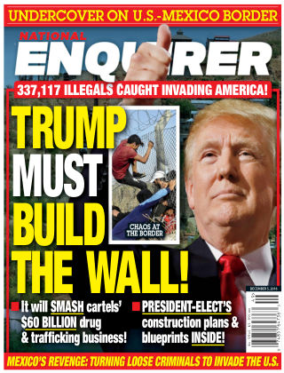 National Enquirer Dec 5 2016