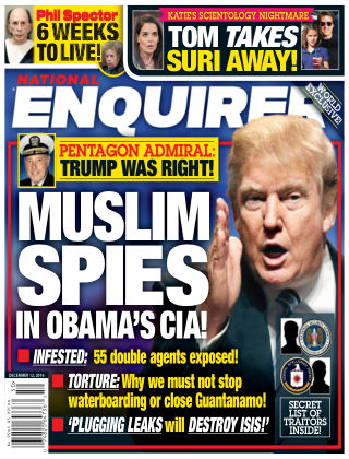 National Enquirer Dec 12 2016