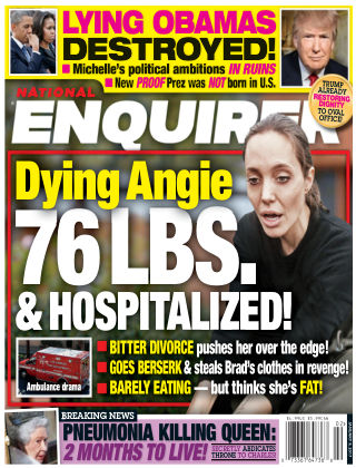 National Enquirer Jan 9 2017