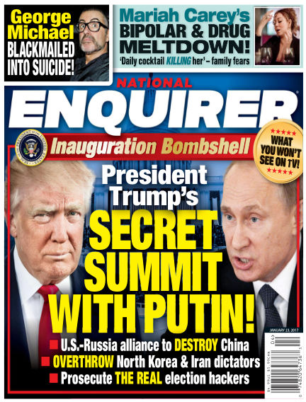 National Enquirer January 13, 2017 00:00