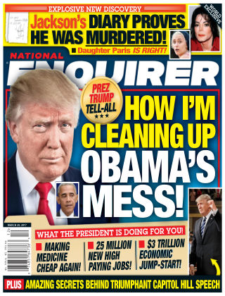 National Enquirer Mar 20 2017