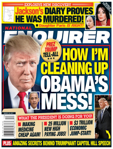 National Enquirer March 10, 2017 00:00