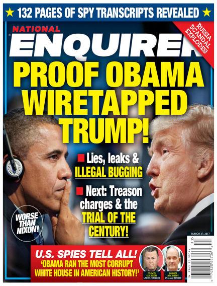 National Enquirer March 17, 2017 00:00