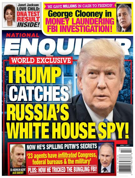 National Enquirer March 24, 2017 00:00