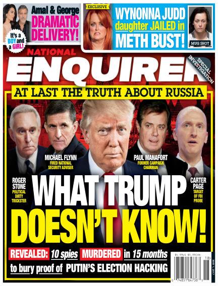 National Enquirer April 21, 2017 00:00