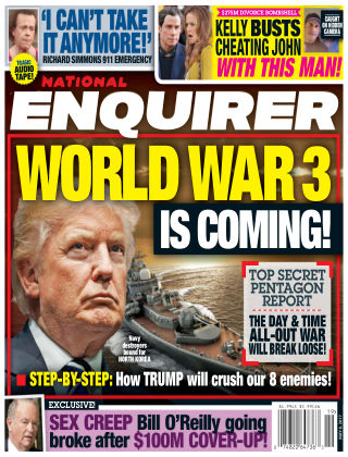 National Enquirer May 8 2017