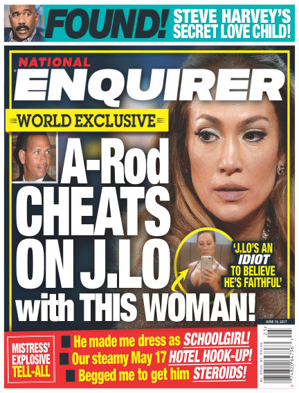 National Enquirer June 09, 2017 00:00