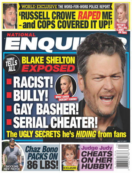 National Enquirer July 07, 2017 00:00