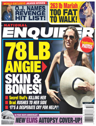 National Enquirer Aug 7 2017