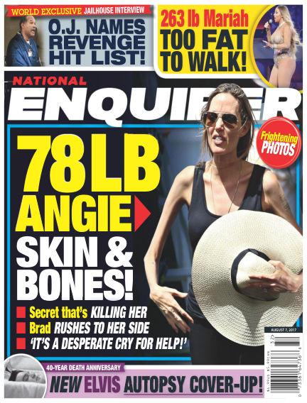 National Enquirer July 28, 2017 00:00