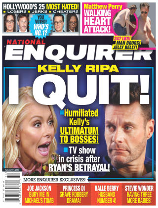 National Enquirer Aug 14 2017