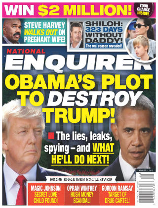 National Enquirer Aug 21 2017