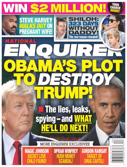 National Enquirer August 11, 2017 00:00