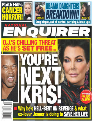 National Enquirer Aug 28 2017