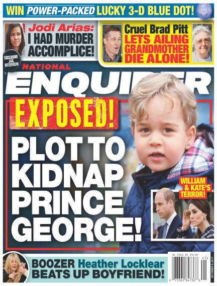 National Enquirer September 29, 2017 00:00