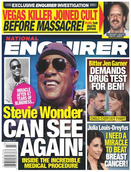 National Enquirer October 13, 2017 00:00