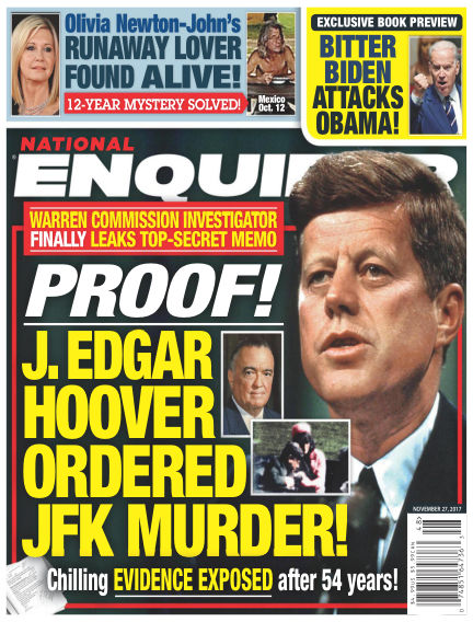 National Enquirer November 17, 2017 00:00