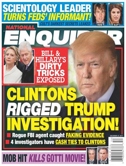 National Enquirer December 15, 2017 00:00