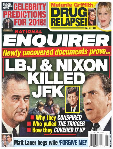 National Enquirer December 22, 2017 00:00