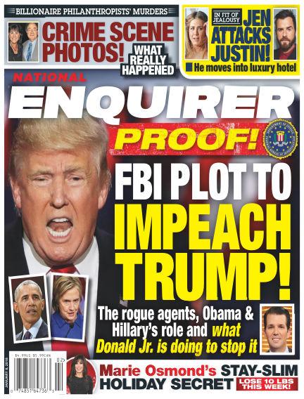 National Enquirer December 29, 2017 00:00