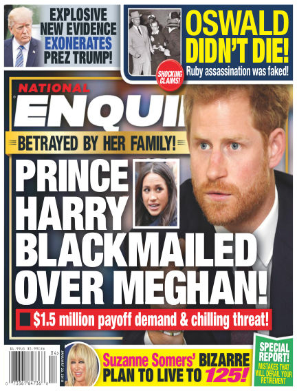 National Enquirer January 12, 2018 00:00