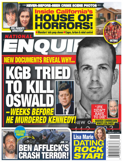 National Enquirer January 26, 2018 00:00