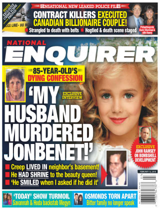 National Enquirer Feb 12 2018