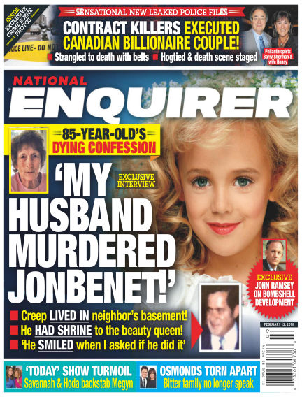 National Enquirer February 02, 2018 00:00