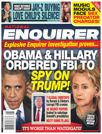 National Enquirer February 09, 2018 00:00