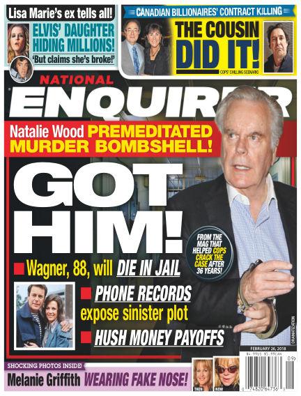 National Enquirer February 16, 2018 00:00