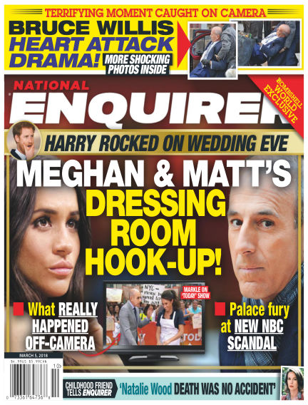 National Enquirer February 23, 2018 00:00