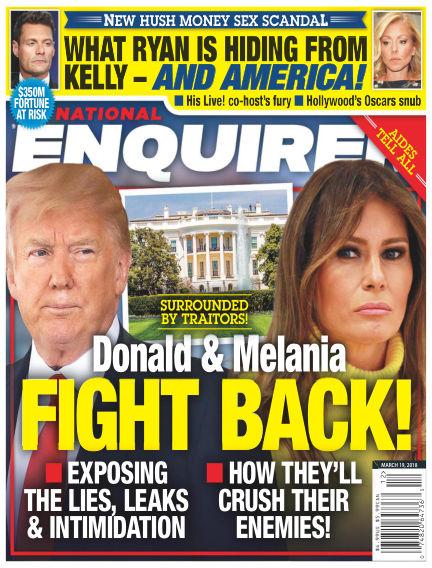 National Enquirer March 09, 2018 00:00