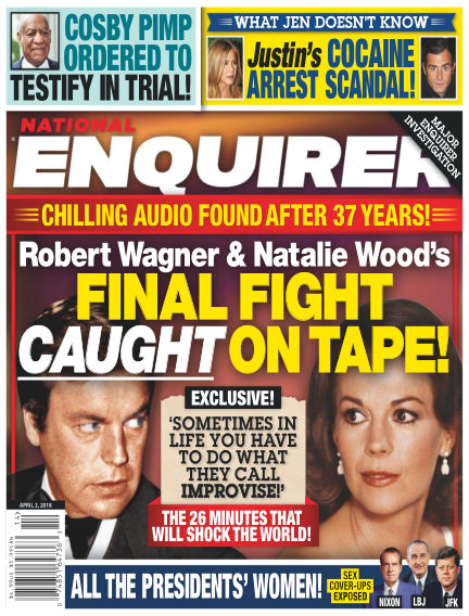 National Enquirer March 23, 2018 00:00
