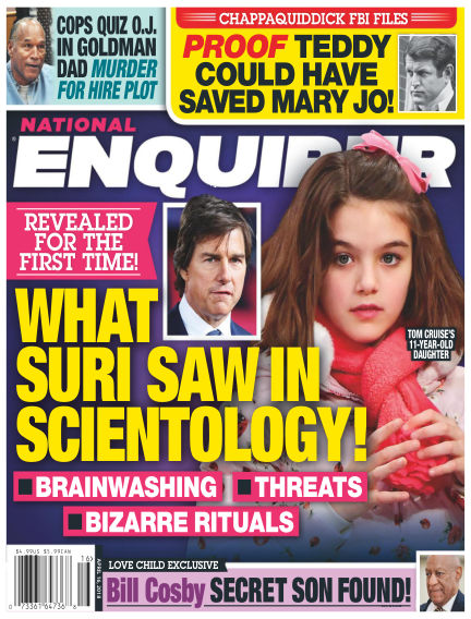National Enquirer March 31, 2018 00:00