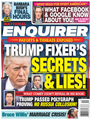 National Enquirer May 7 2018