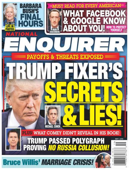 National Enquirer April 27, 2018 00:00