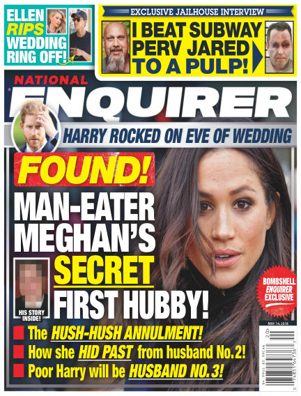 National Enquirer May 04, 2018 00:00