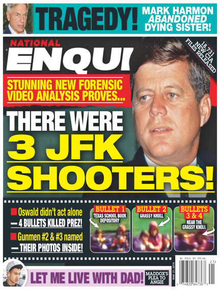 National Enquirer May 11, 2018 00:00