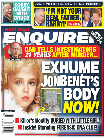 National Enquirer May 18, 2018 00:00