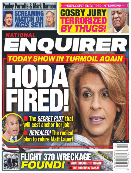 National Enquirer May 25, 2018 00:00