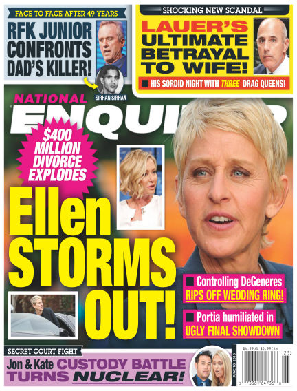 National Enquirer June 08, 2018 00:00