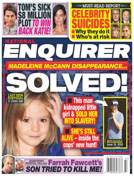 National Enquirer June 22, 2018 00:00