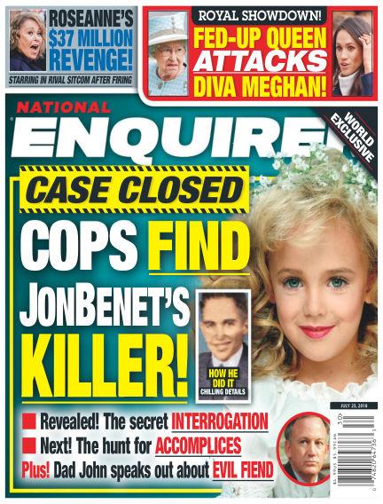 National Enquirer July 13, 2018 00:00