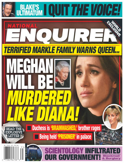 National Enquirer July 20, 2018 00:00