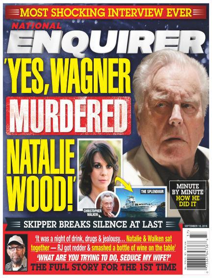 National Enquirer August 31, 2018 00:00