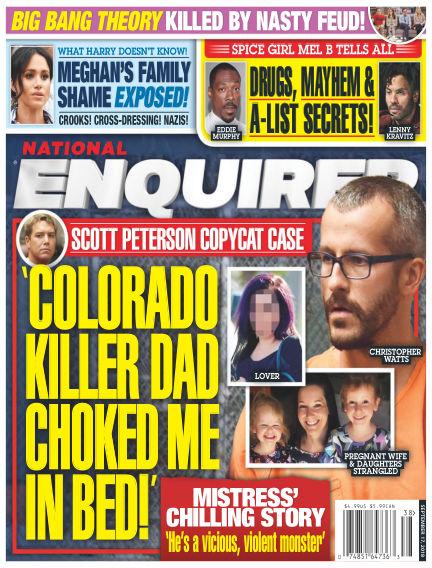 National Enquirer September 07, 2018 00:00