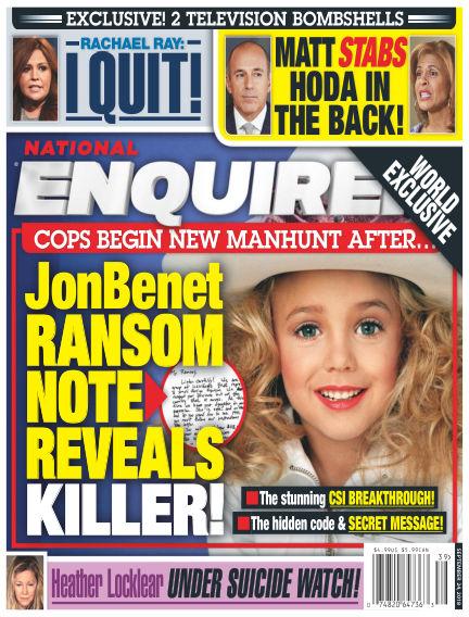 National Enquirer September 14, 2018 00:00