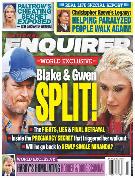 National Enquirer October 12, 2018 00:00